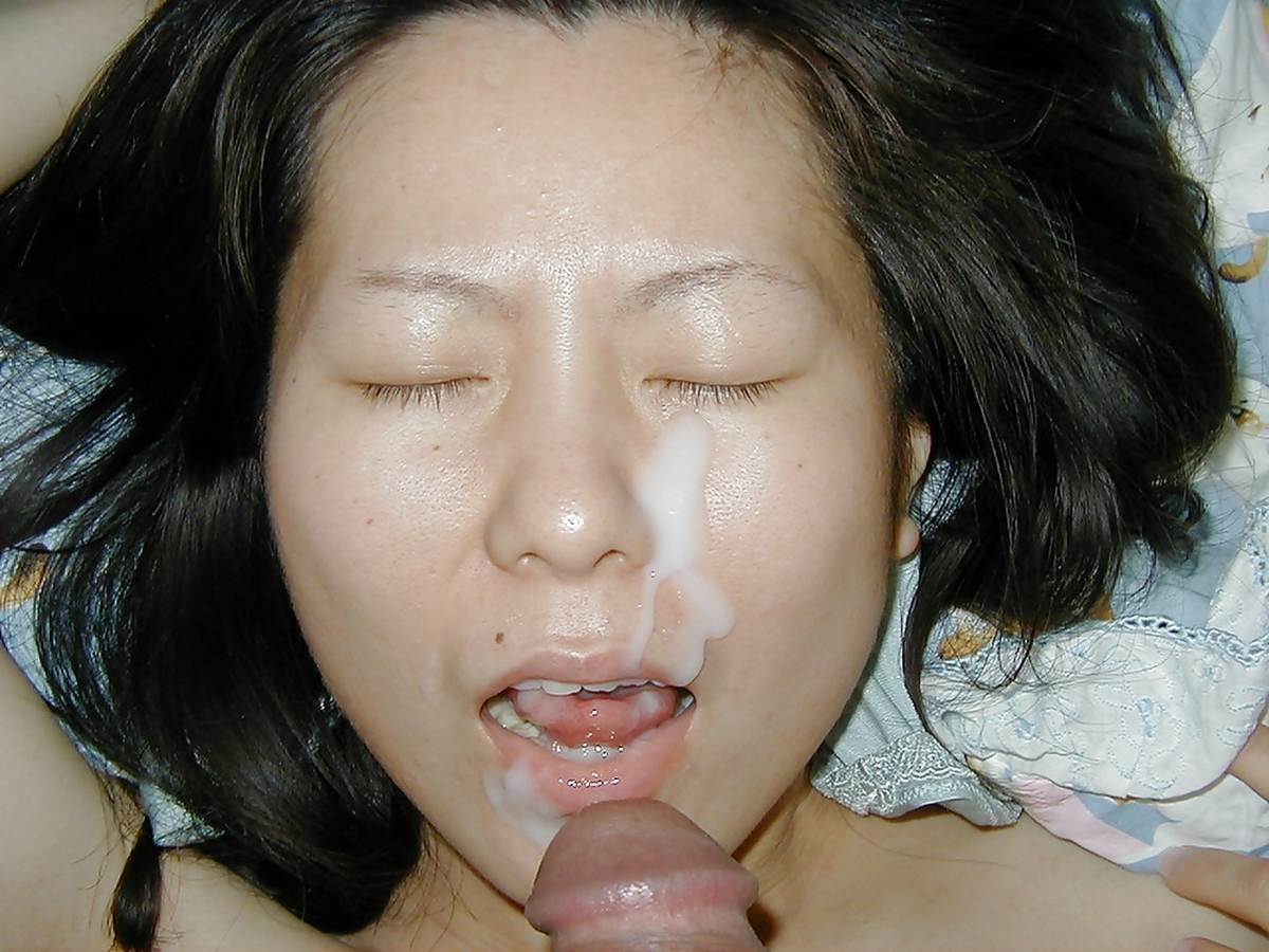 asian mouth Wife cum