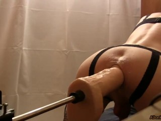 drilled sissy machines muscle Fucking