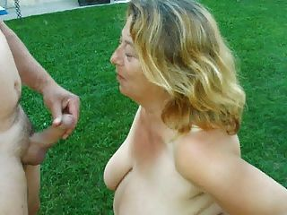 big wife crossdresser Outdoor cock