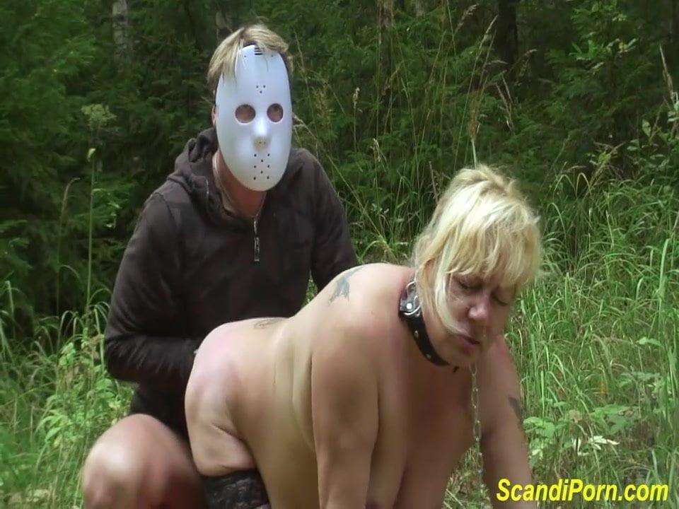 Bukkake outdoor anal uncut