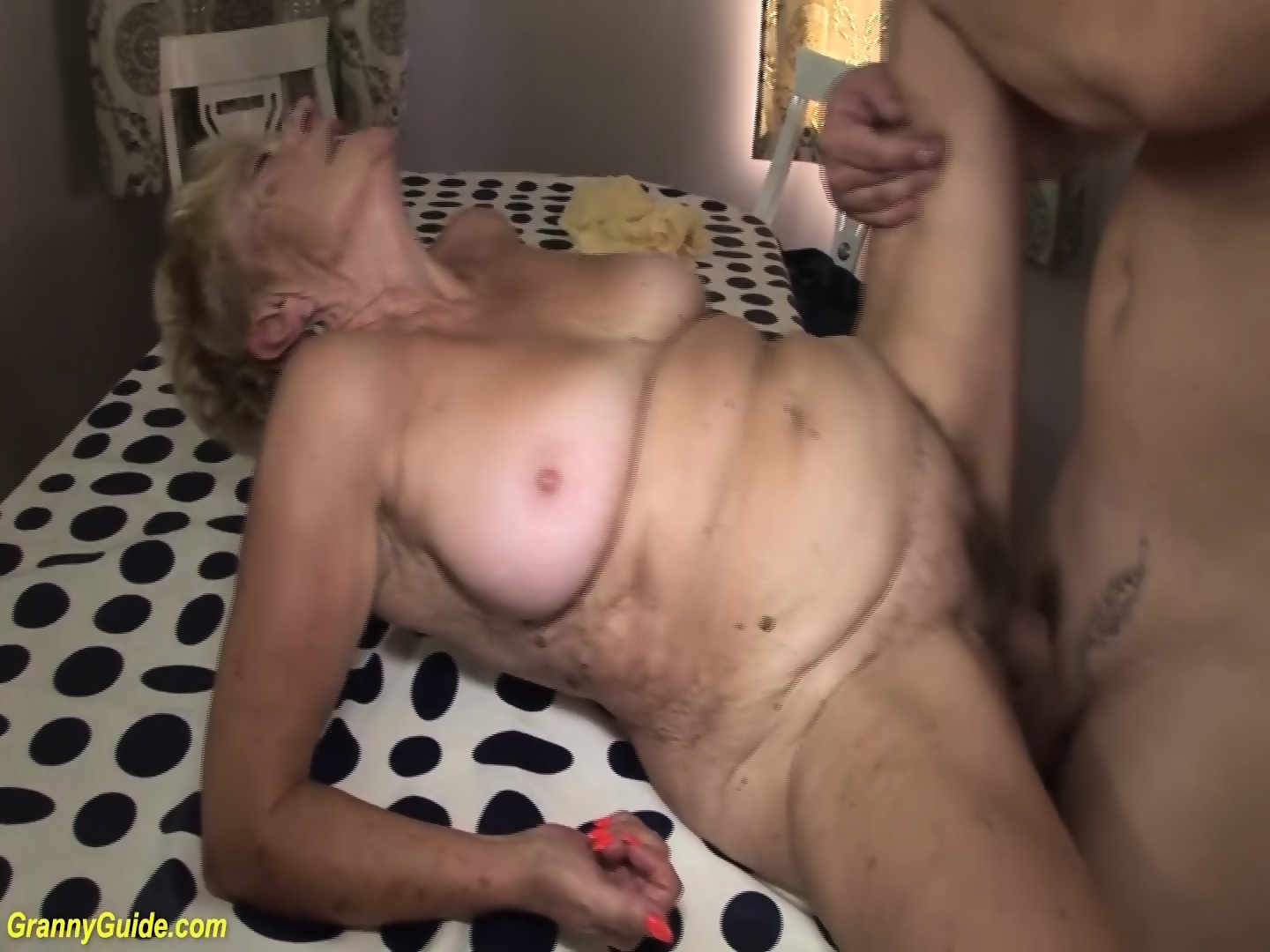 rough Grannies titfuck mounth