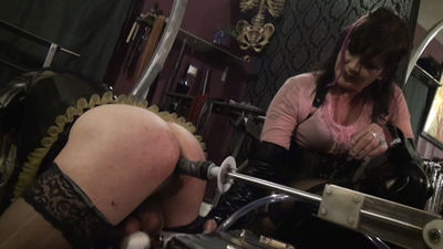 Sex big boobs dildo maid
