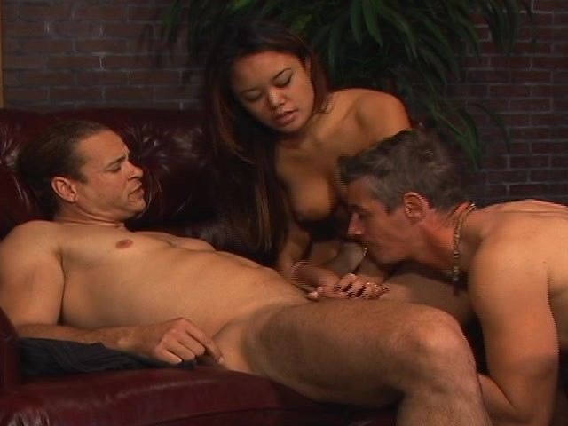 otngagged asian bisexual Watching