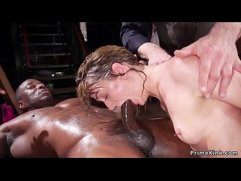 orgy gym sucking Anal dick