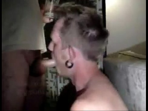 gagging Sissy drunk muscle