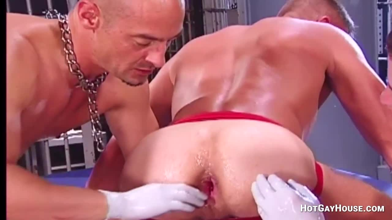 double blowjob fisting spy Muscle