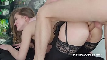 lingerie sex Curly anal