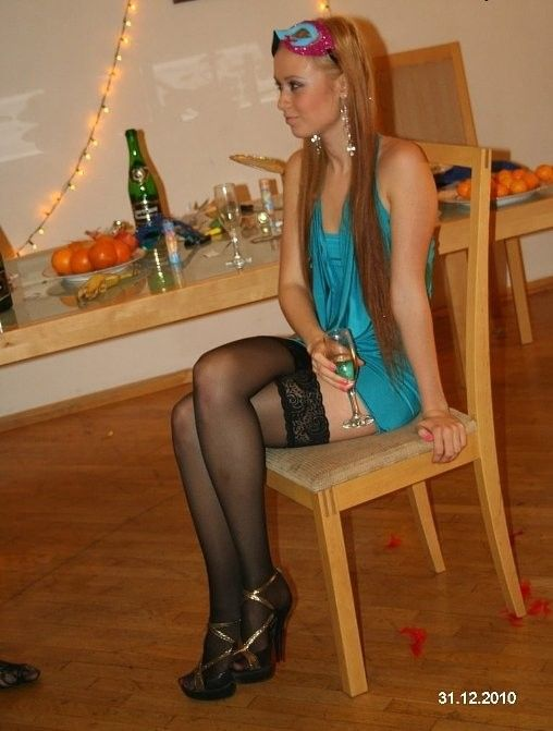 petite amateur Handjob stockings