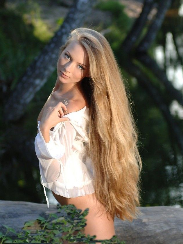 hair long Daddy blonde sexy
