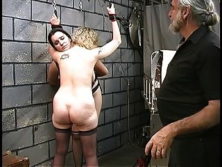 Gregory recommends Deepthroat maid shared bondage