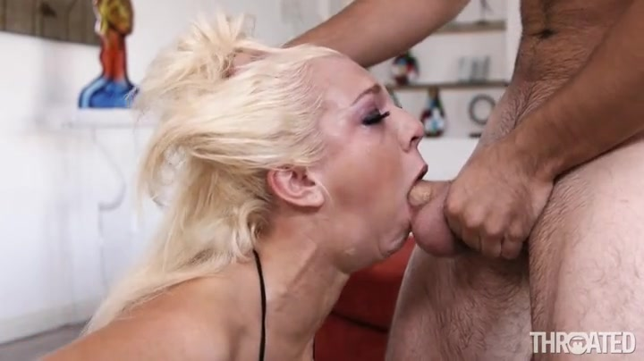 blowjob fishnet smalltits Double messy