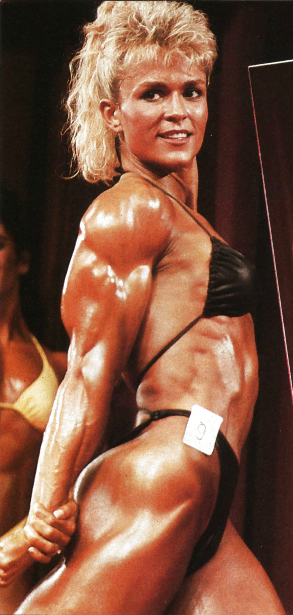 vintage Muscle gym titfuck