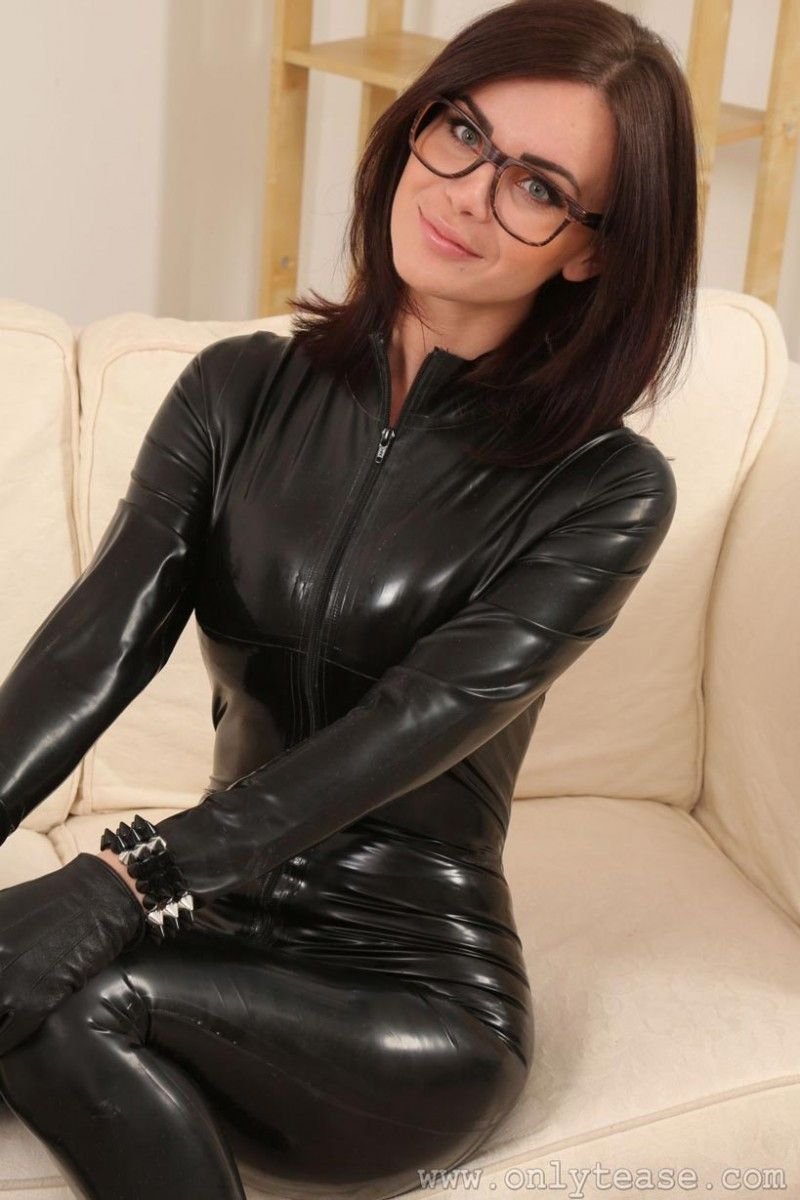 dick pigtails Latex glamour sucking