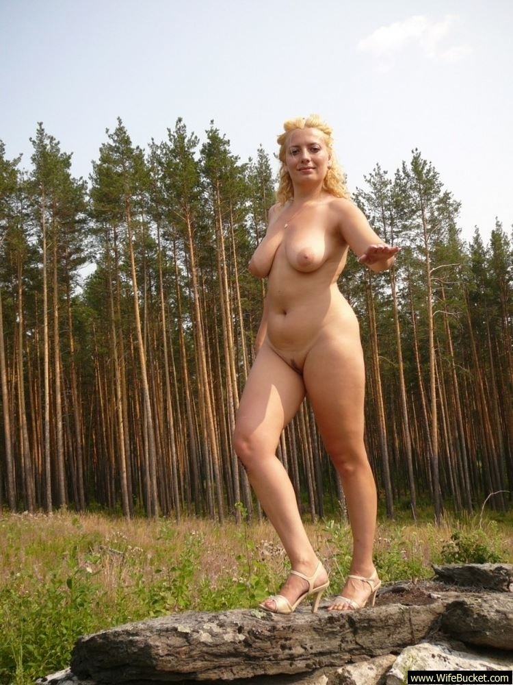 amateur shaved outdoor Housewife