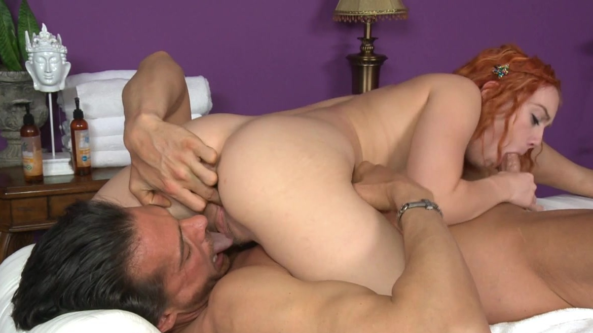 curly screaming palor Massage cock sucking
