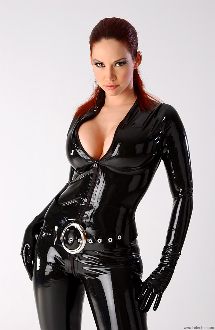 girlfriend spyfam Latex model