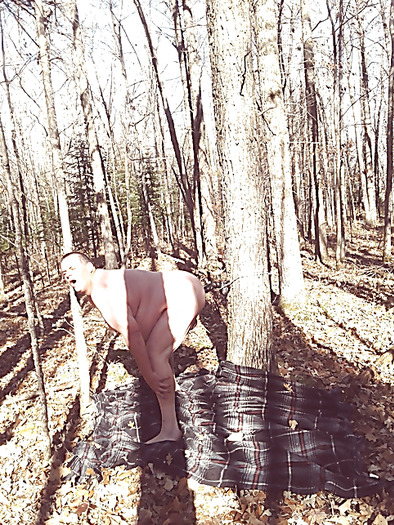 sissy humilation outdoor Hairy