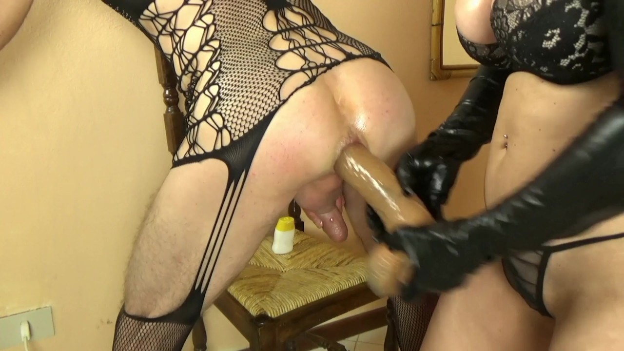 shared pegging anal Gym