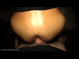 Pantyhose ball sucking young dark haired