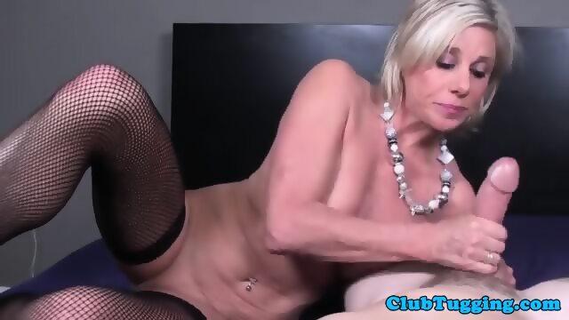 Amateur lingerie stepmom glamour