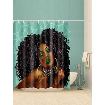 curly sexy makeout Bathroom