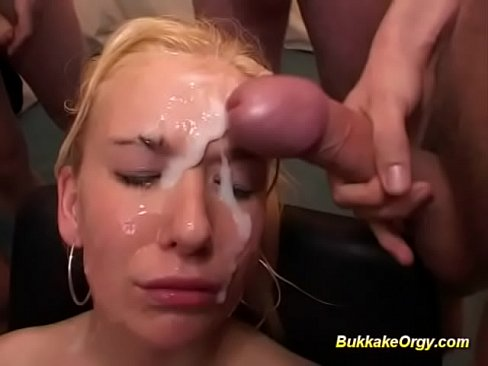 sweet oiled Bukkake gay