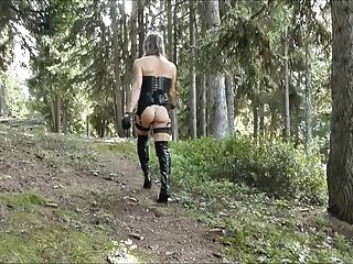 blonde outdoor barebackcumpigs Voyeur