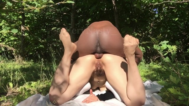 Bukkake sucking dick panties first time