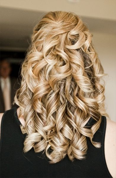 hair long blonde shared Curly