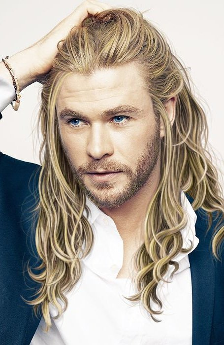 long doctor sexy Blonde hair