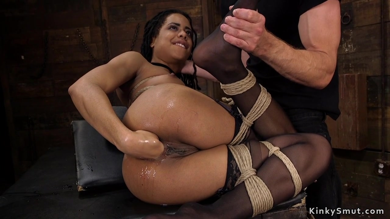 fisting spank model Ebony