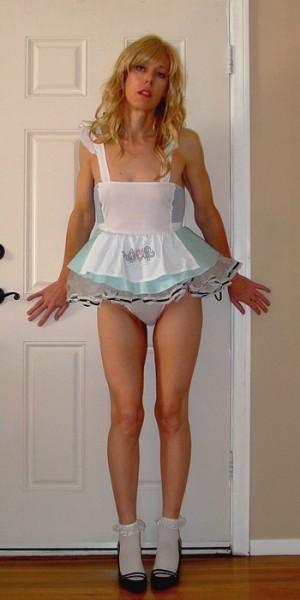 Erotic maid drunk sissy