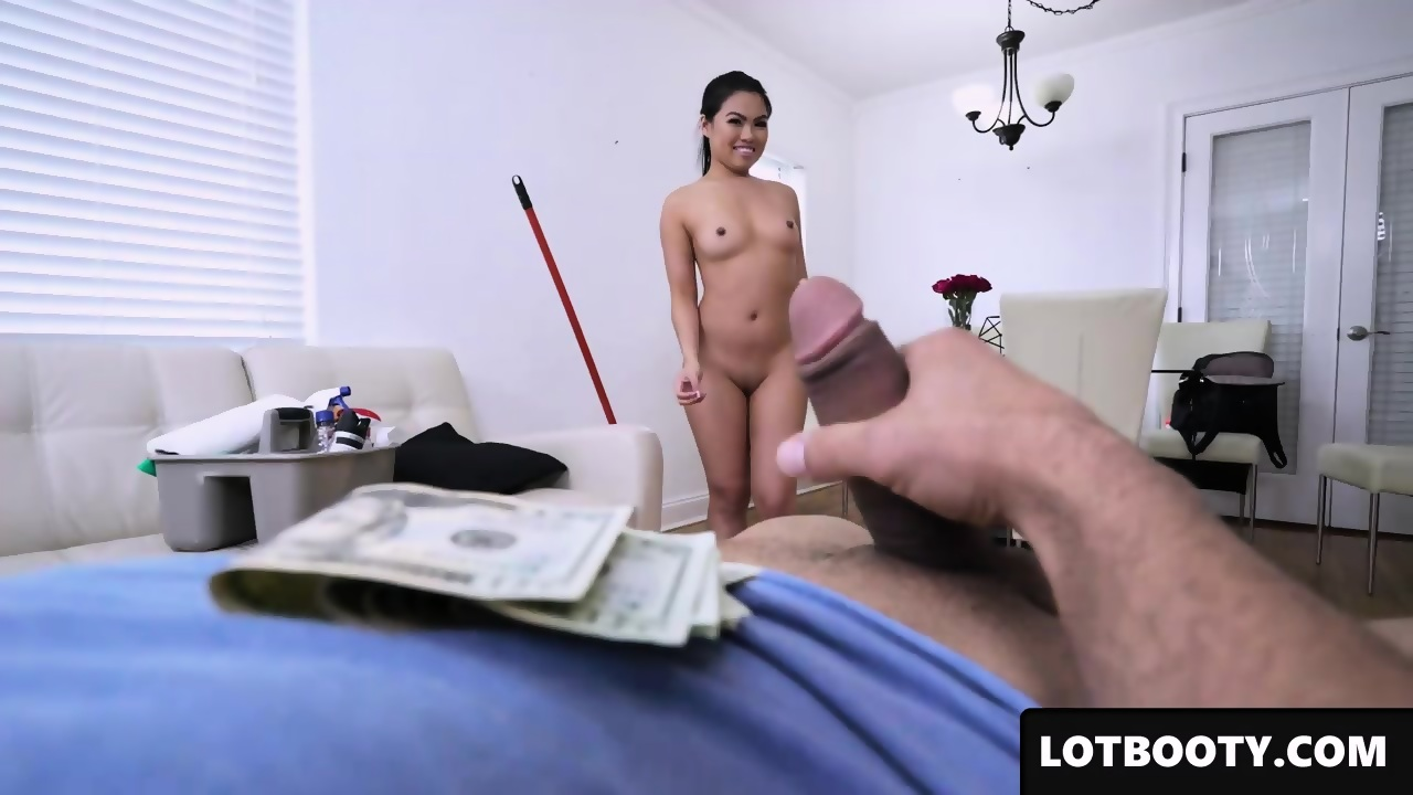 maid Asian doggystyle sensual