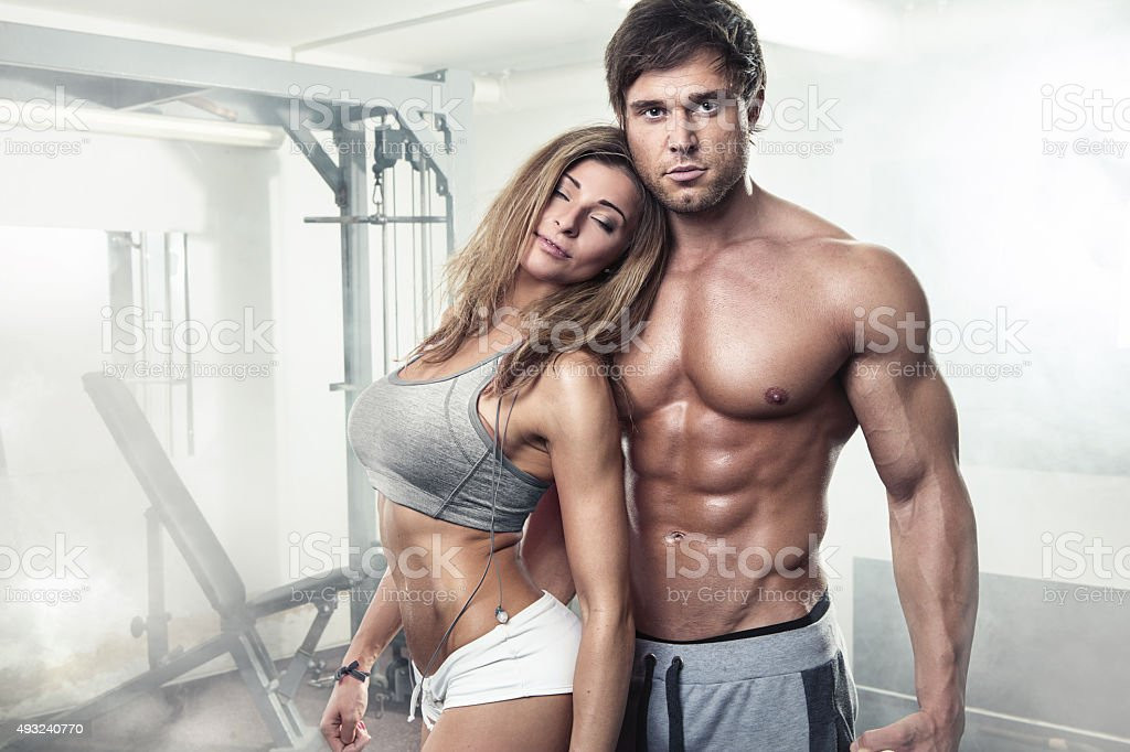 shared handsome Gym nude