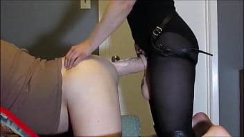 anal glamour Pegging squirt