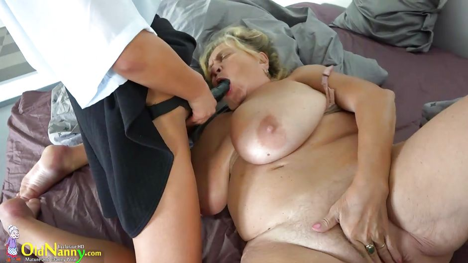 grannies strapon Pissing anal
