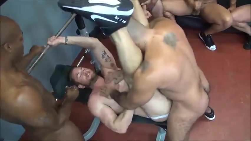 drilled Spy gangbang muscle
