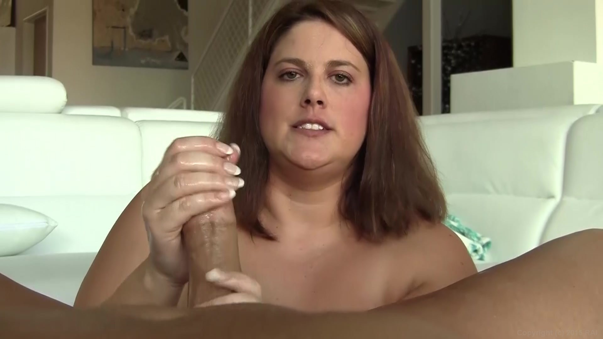 big Woman casting POV dick